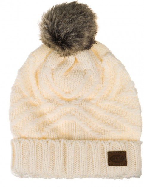 Animal Becki Beanie in Vanilla Cream Marl