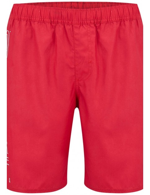 Animal Belos Elasticated Boardshorts in Rich Red