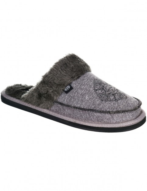 Animal Bessie Slippers in Black