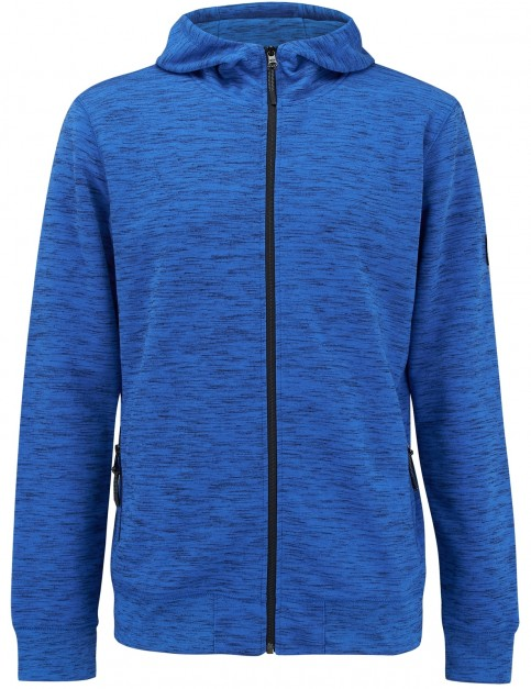 Animal Bevan Full Zip Fleece in Snorkel Blue Marl