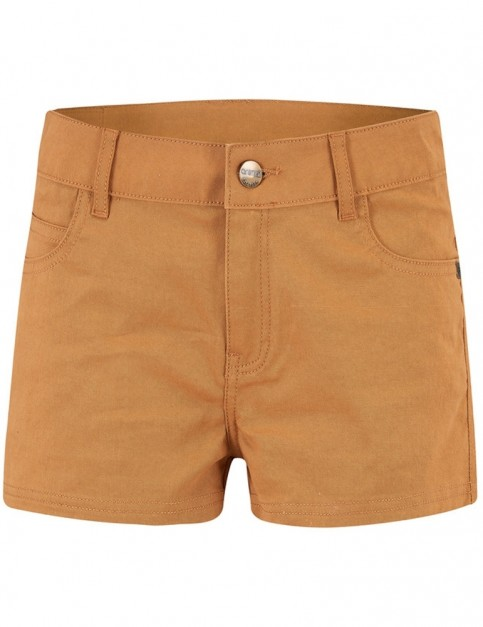 Animal Billie Reload Shorts in Toffee Apple Brown