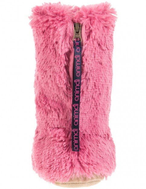 Animal Bollo Slippers in Dusky Pink