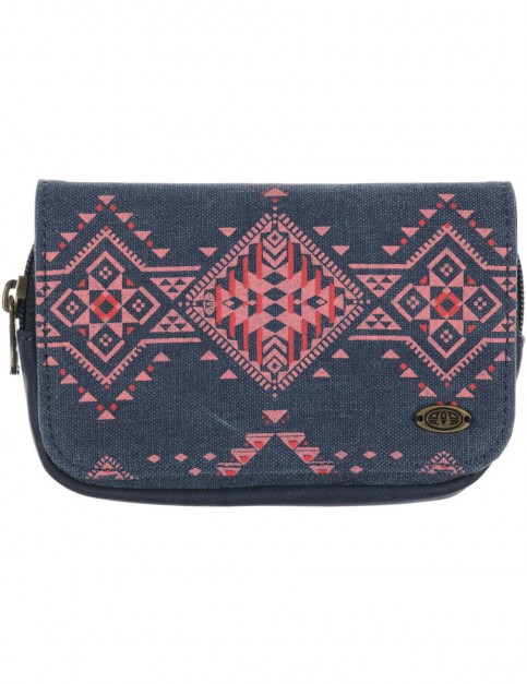 Total Eclipse Navy Animal Briana Polyester Wallet