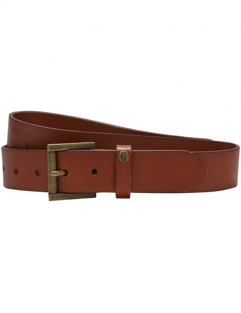 Animal Brodi Leather Belt in Brown
