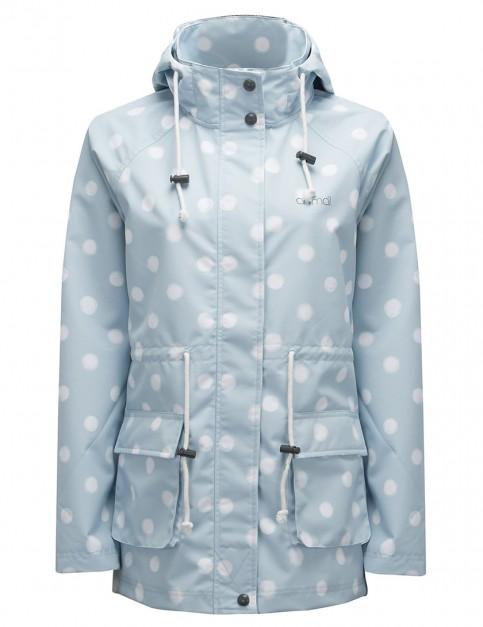 Chalk Blue Animal Bryndley Rain Jacket