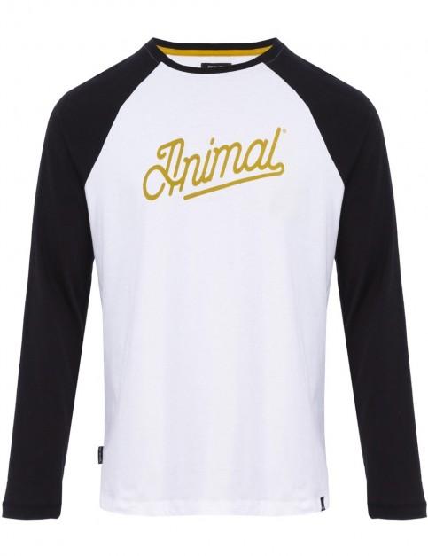Animal Burn Long Sleeve T-Shirt in BLACK