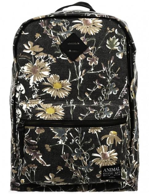 Animal Burst Backpack in Black