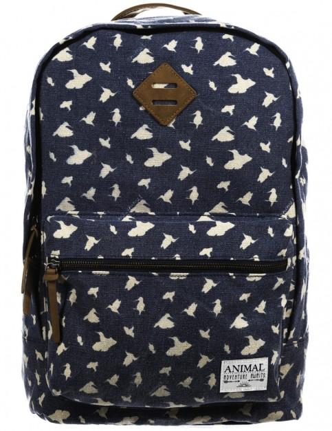 Animal Burst Backpack in Dark Navy