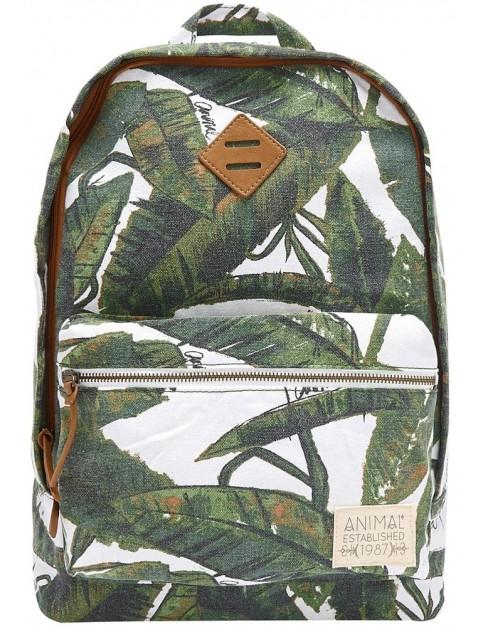 Animal Burst Backpack in Leaf Green