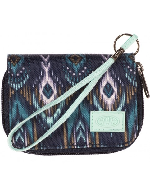 Animal Buzios Polyester Wallet in Sea Blue