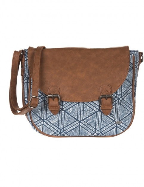 Animal Chance Cross Body Bag in Dark Navy
