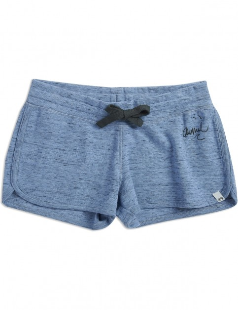 Animal Cheeks Track Shorts in Forever Blue Marl