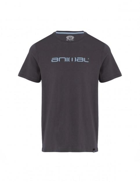 Animal Classico Short Sleeve T-Shirt in Asphalt Grey
