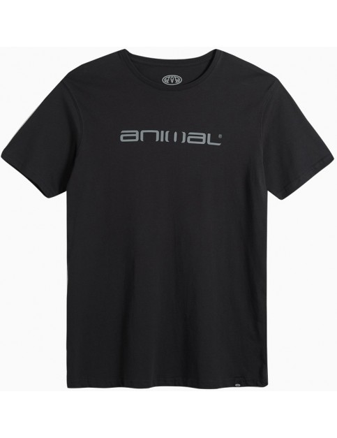 Animal Classico Short Sleeve T-Shirt in Black