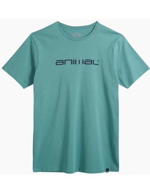 Animal Classico Short Sleeve T-Shirt in Oil Blue