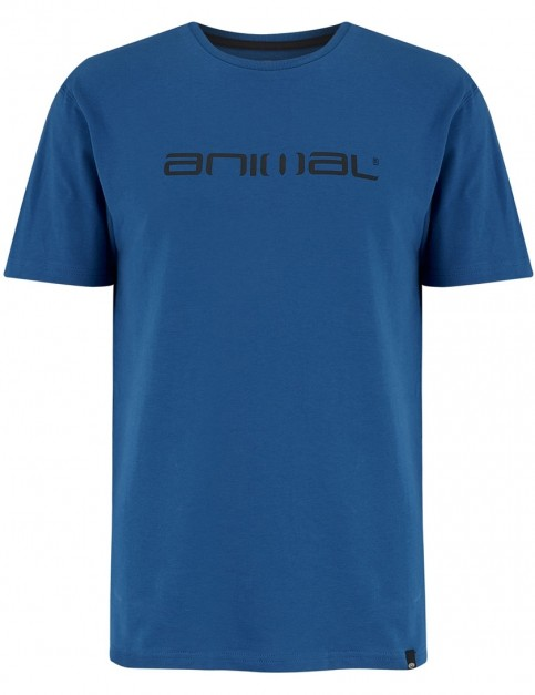 Animal Classico Short Sleeve T-Shirt in Snorkel Blue