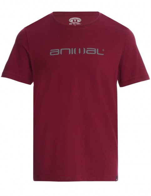 Animal Classico Short Sleeve T-Shirt in Tawny Purple