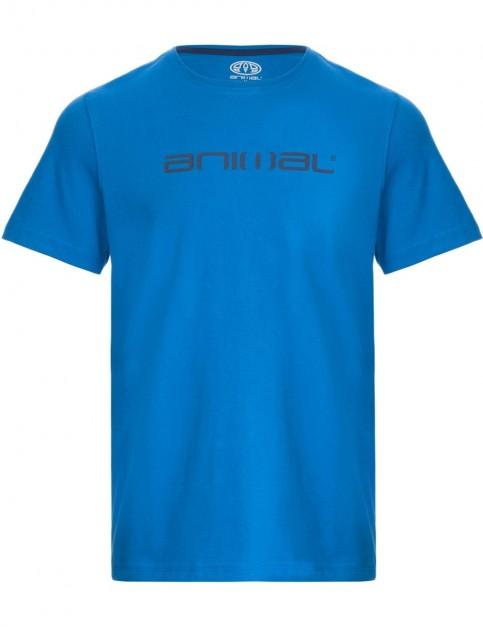 Animal Classico Short Sleeve T-Shirt in Vallarta Blue