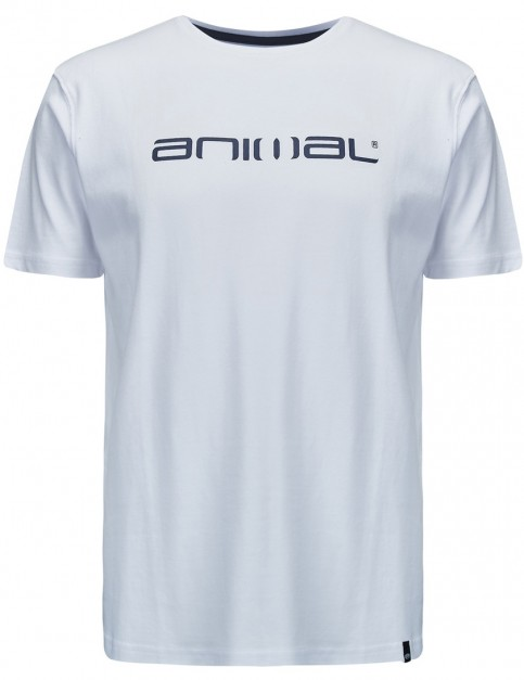 Animal Classico Short Sleeve T-Shirt in White