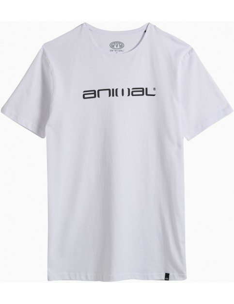 Animal Classico Short Sleeve T-Shirt in White