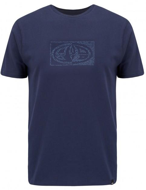 Animal Claw Short Sleeve T-Shirt in Dark Navy