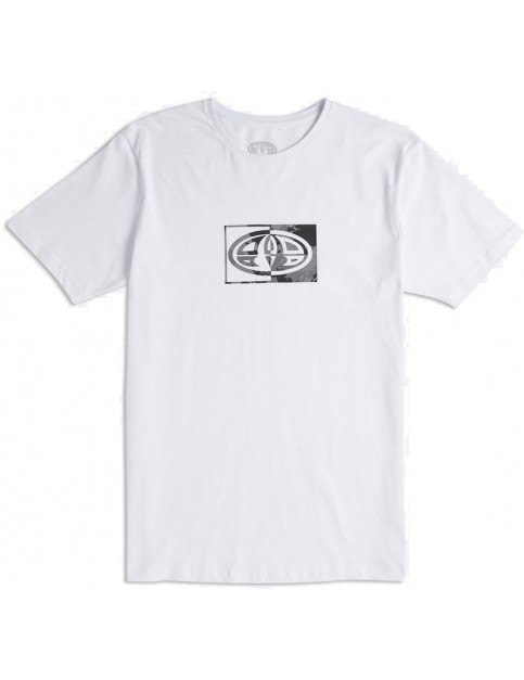 Animal Claw Short Sleeve T-Shirt in White
