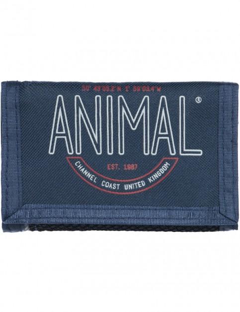 Animal Clifton Polyester Wallet in Dark Navy
