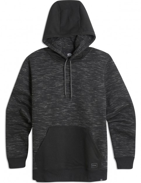 Animal Combusted Pullover Hoody in Black