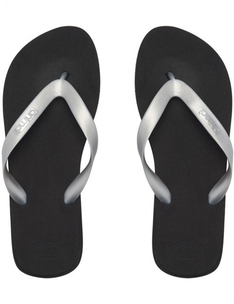 Animal Cosmos Metallic Flip Flops in Filanium Grey