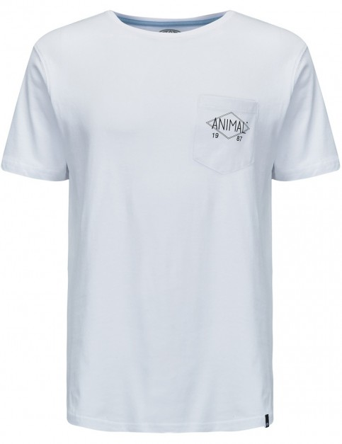 Animal Crafted Short Sleeve T-Shirt in White