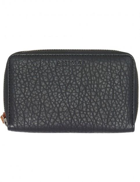 Animal Crazy Daze Polyester Wallet in Black