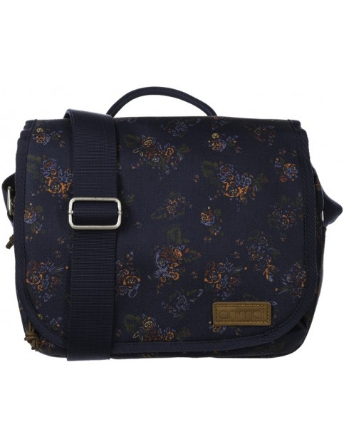 Animal Crest Cross Body Bag in Dark Navy