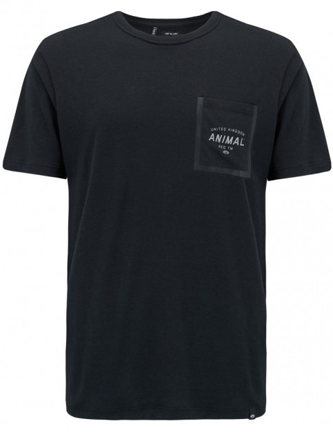 Animal Critical Short Sleeve T-Shirt in Black