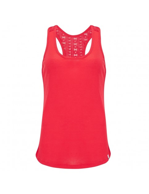 Animal Daily Sleeveless T-Shirt in Cranberry Red