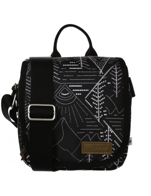 Animal Dawn Cross Body Bag in Black