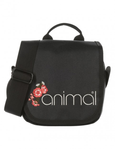 Animal Dawn Cross Body Bag in Black