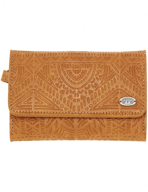 Animal Daydreamer Faux Leather Wallet in Tan