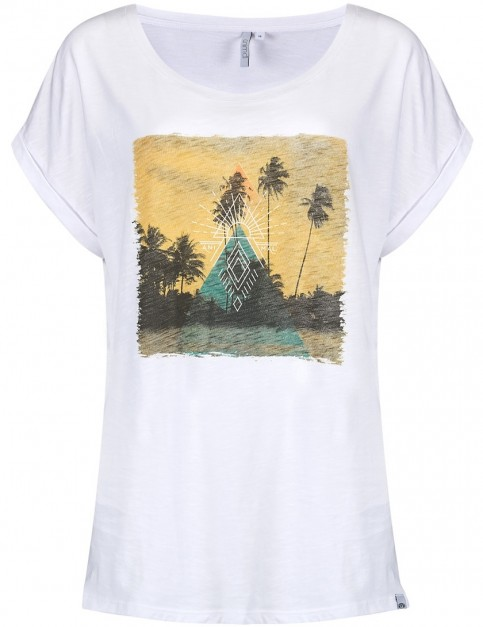 Animal Desert Trip Short Sleeve T-Shirt in White