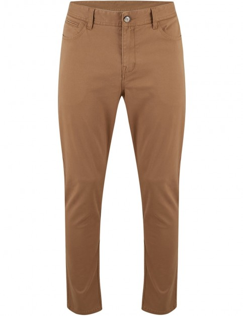 Animal Dexter Chino Trousers in Dijon Brown