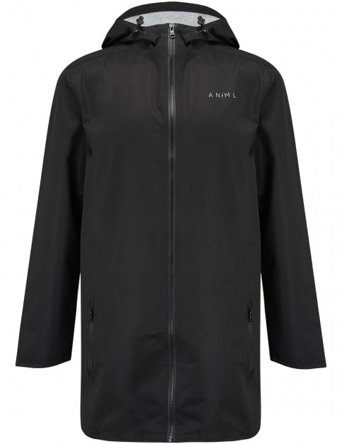 Animal Downpour Jacket in Black