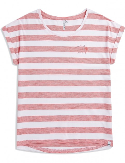 Animal Drift Circles Short Sleeve T-Shirt in White