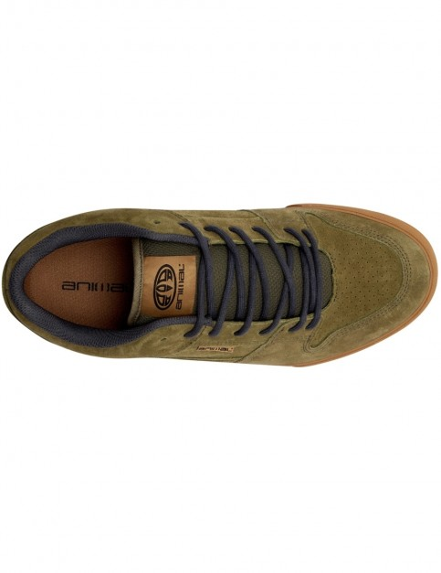 Animal Ellis Trainers in Lizard Green