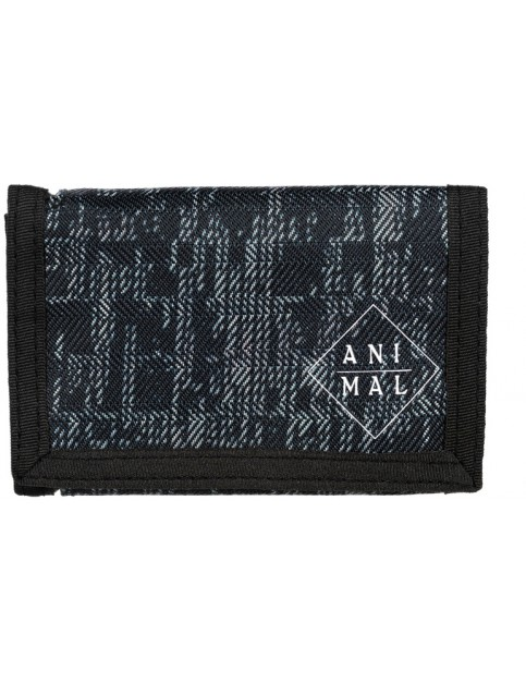 Animal Enraged Polyester Wallet in Black/Grey