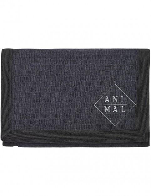 Animal Enraged Polyester Wallet in Dark Navy