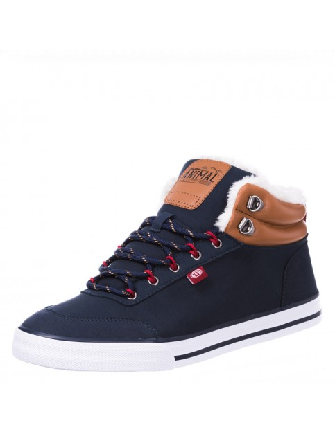 Animal Enzo Trainers in Total Eclipse Navy