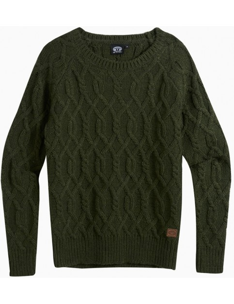 Animal Errie Jumper in Woodland Green