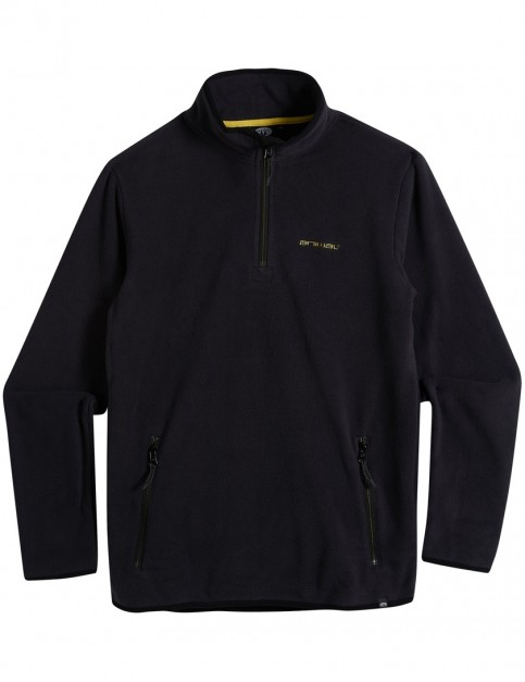 Animal Fairbanks Mid Layer Fleece in Black