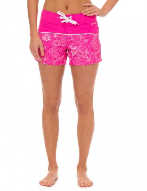 Animal Faren Short Board Shorts in Lily Pink