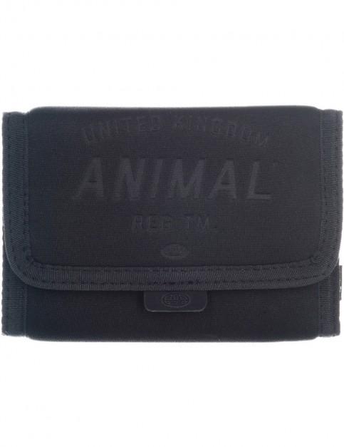 Animal Fielding Fabric Wallet in Steel Grey