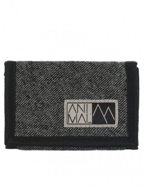 Grey Animal Fielding Faux Leather Wallet
